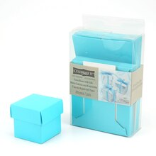 Turquoise Favor Boxes with Lids by Celebrate It
