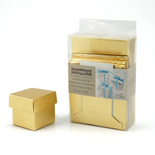 Wedding Gift Boxes Michaels : Favor Boxes with Lids by Celebrate It