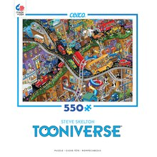 Ceaco Steve Skelton Tooniverse 550 Piece Jigsaw Puzzle