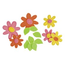 Felt Daisy Stickers by Creatology