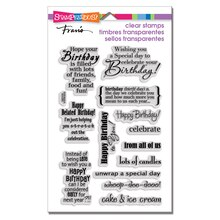 Stampendous Clear Stamps Set, Birthday Assortment Perfectly