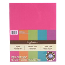"Brights Cardstock Paper, 8.5"" x 11"" by Recollections"