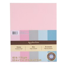 "Dreamy Cardstock Paper, 8.5"" x 11"" by Recollections"