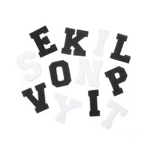 Black & White Alphabet Foam Stickers by Creatology