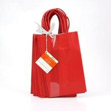Red Paper Bags By Celebrate It