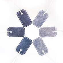Denim Gift Tags by Celebrate It