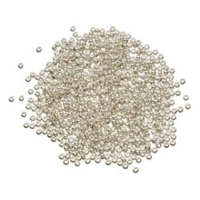 Toho Japanese Glass Seed Beads, 11/0 Silver