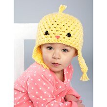 Loops & Threads® Charisma™ Baby Chickadee Baby Crochet Hat, medium