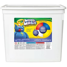 Crayola Model Magic Modeling Compound, Bucket of 4 Assorted Colors