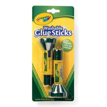 Crayola Washable Glue Sticks, 2 Count