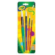 Crayola Round Brush Set, 4 Count