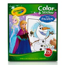 Crayola Disney Coloring & Sticker Book Frozen