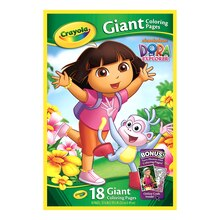 Crayola Nickelodeon Giant Coloring Pages, Dora