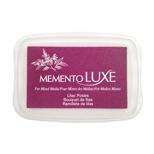 Memento Luxe Full-Size Inkpad, Lilac Posies