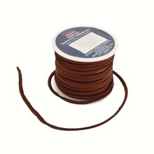 Latigo Lace, 25 Yd. by ArtMinds Medium Brown Top