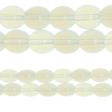 Bead Gallery Round Glass Beads, Cloudy