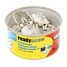 OOK ReadyScrew 2-Ring Hanger Tidy Tin
