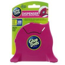 Glue Dots Desktop Dispenser With Mini Roll
