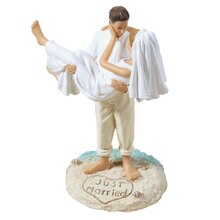 Lillian Rose Beach Couple Figurine