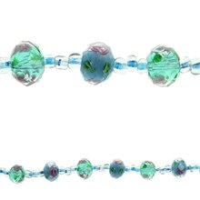 Bead Gallery Aqua Glass Beads