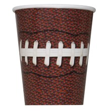 9oz Football Paper Cups