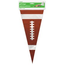 Football Cone Cellophane Bags