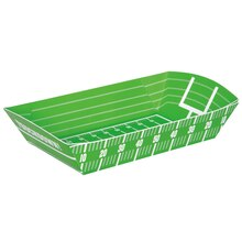 Football Field Paper Food Trays