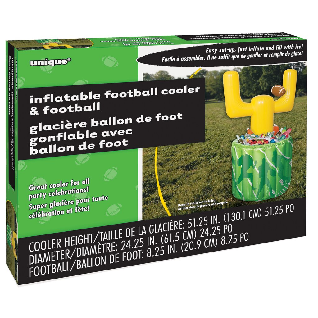 football goal post inflatable cooler football party supplies