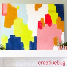 Colorful Abstract Painting, medium