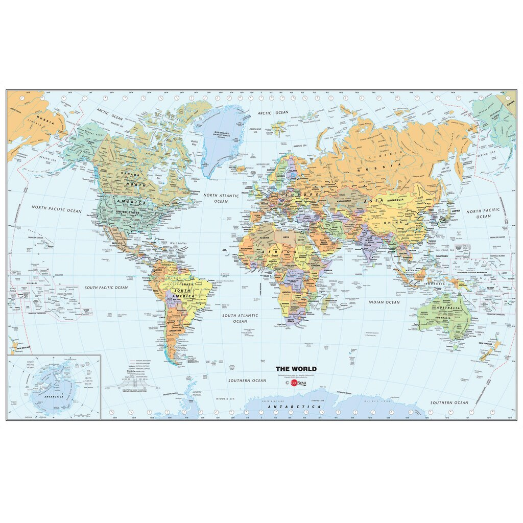 Shop for the wallpops world map at michaels wallpops world map gumiabroncs Images