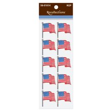 American Flag Stickers by Recollections