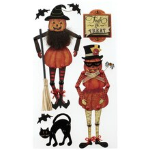 Jolee's Boutique Stickers, Poseable Jack-o'-Lantern