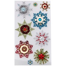 Jolee's Boutique Stickers, Embellished Snowflake