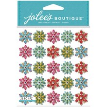 Jolee's Boutique Stickers, Snowflake Mini Repeat
