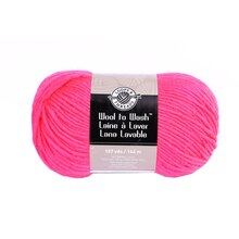 Wool to Wash Yarn by Loops & Threads Pink Passion
