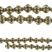 Bead Gallery Lantern Metal Beads, Gold