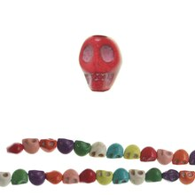 Bead Gallery Reconstituted Skull Beads