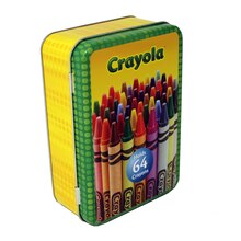 Crayola Storage Tin