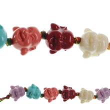 Bead Gallery® Buddha Face Beads, medium