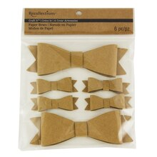 Recollections Craft It Paper Bows, Kraft