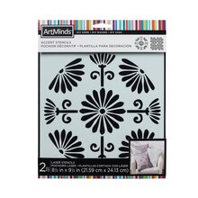 DIY Home Oriental Inspiration Accent Stencils by ArtMinds