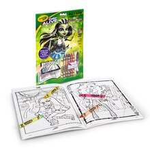 Crayola Color Alive Monster High Contents