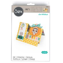 Sizzix Bigz L Die, Side Step Card by Lori Whitlock