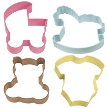 Wilton Baby Theme Cookie Cutter Set