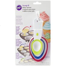 Wilton Scoop-it Batter Spoons