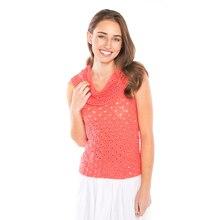 Premier Yarns® Cotton Fair Cowl Neck Tank (Crochet), medium