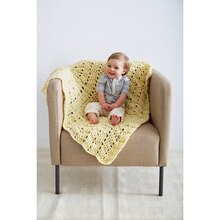 Loops & Threads® Country Loom™ Baby Waves Crochet Blanket, medium