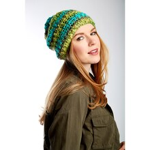 Bernat® Dimensions® Slouchy Crochet Hat, medium