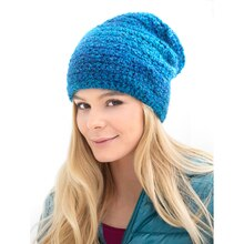 Lion Brand® Homespun® Freshman Crocheted Hat, medium