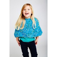 Loops & Threads® Kidding Around™ Cozy Knit Capelet, medium
